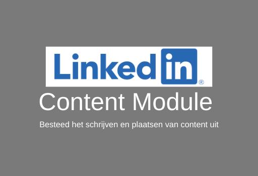 LinkedIn Content Module Aan Marketing