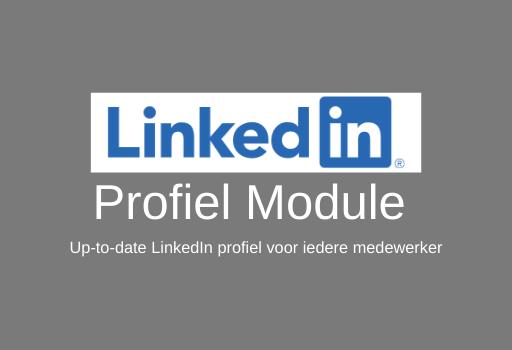 LinkedIn Profiel Module Aan Marketing