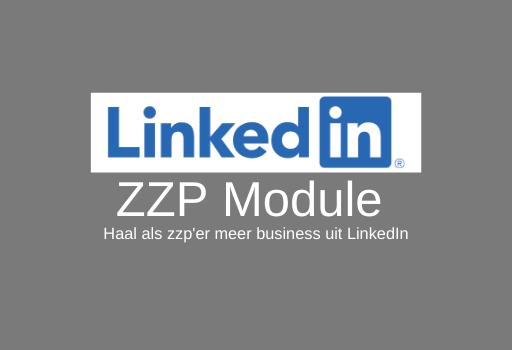 LinkedIn ZZP Module Aan Marketing